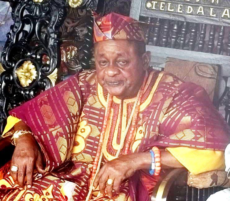 Alaafin of Oyo Oba Lamidi Adeyemi